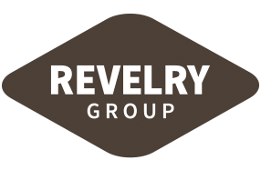 Revelry Group Logo - Check us out at https://revelrygroup.com